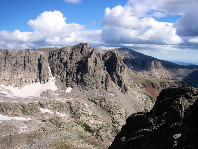 Shoshoni Peak and Mount...