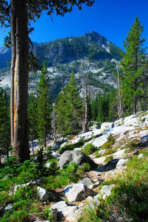 Peak Above Canyon Creek Trail