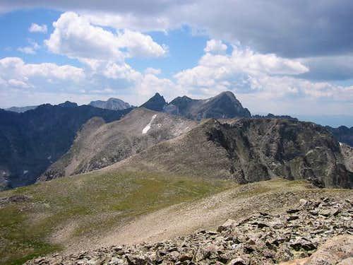 The view of Shoshoni Peak,...