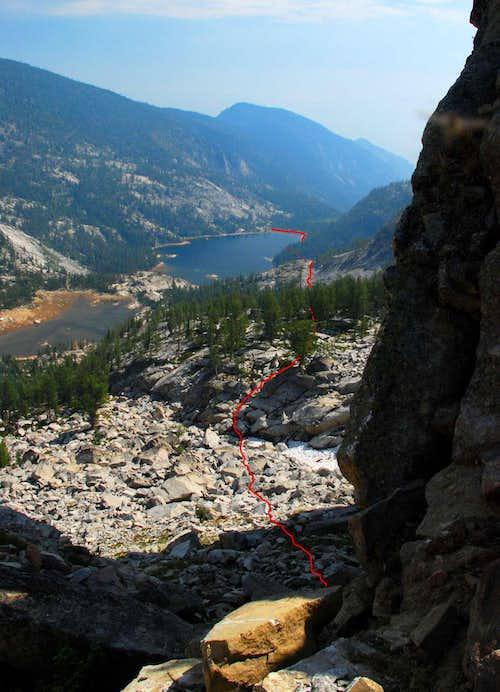 Route to Ridge Access