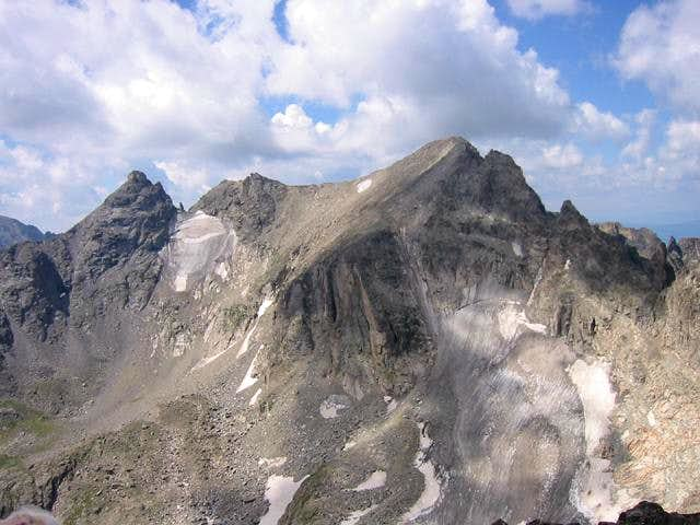 The view of Navajo Peak and...