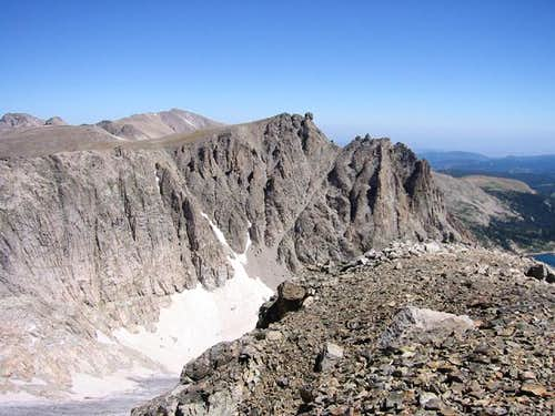 Shoshoni Peak as seen from...