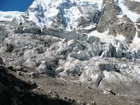 The First Icefall of Mizhirgi Glacier