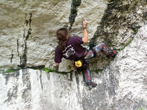 climbing in Podlesice