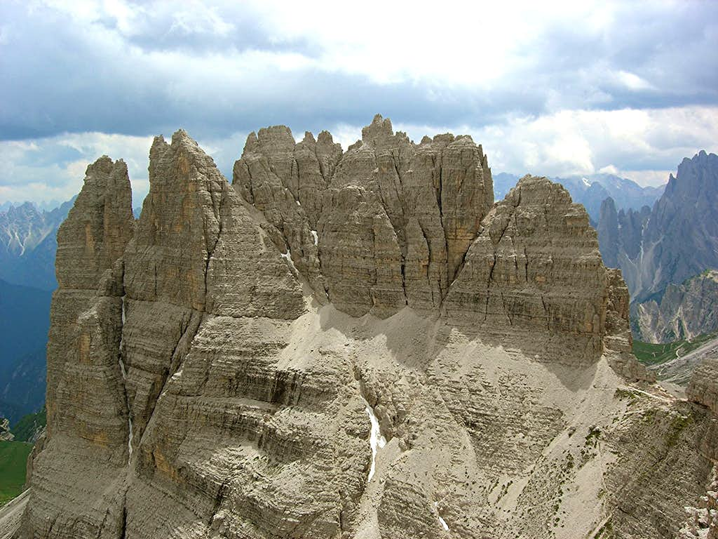 Vieuw from Monte Paterno