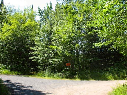 Mt. Arvon Parking Area