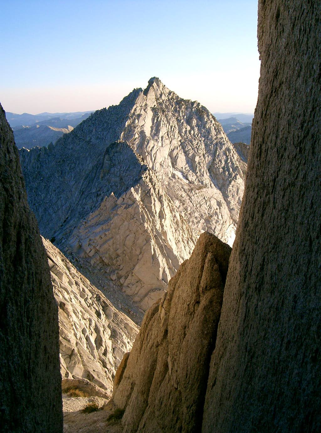 South Summit of Whorl Mountain from
