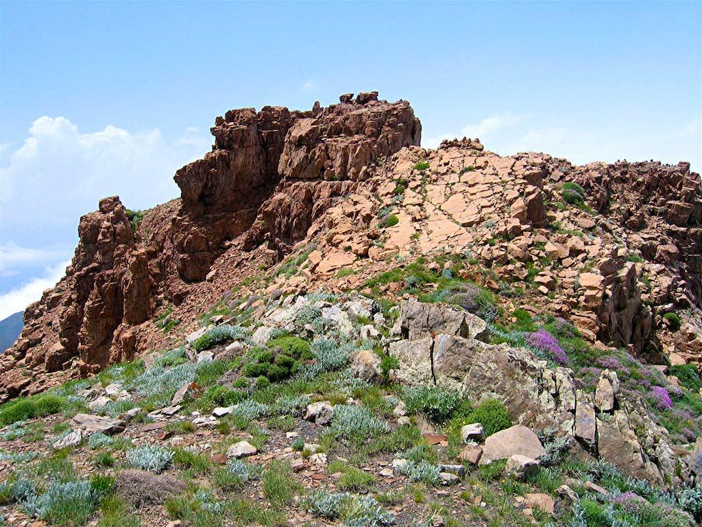 Rock on NE Ridgeline