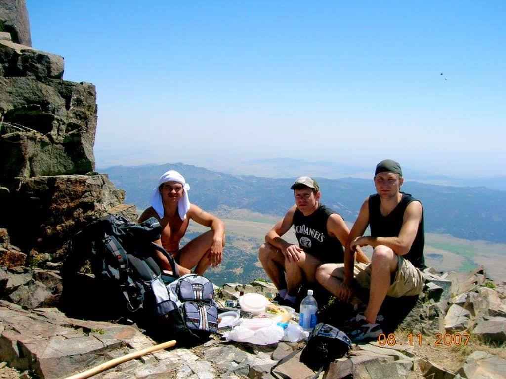 Hikers from the Ukraine