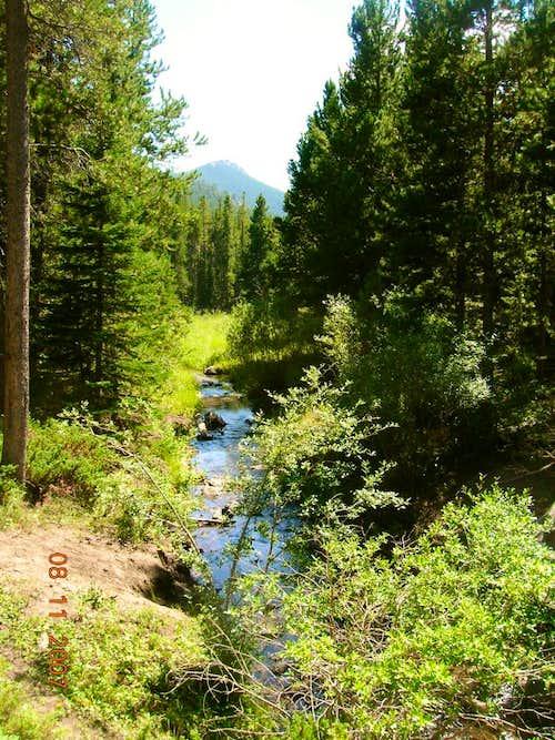 Friend Creek at base of Laramie Peak