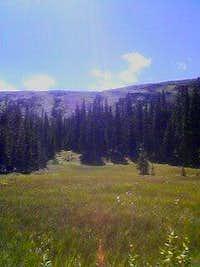 Niwot Ridge from Long Lake
