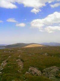 Niwot Ridge looking towards the plains.