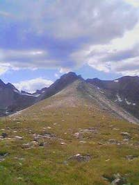 Looking west on Niwot Ridge