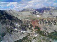 Looking across from Niwot Ridge