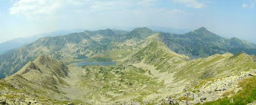 West view from Peleaga peak