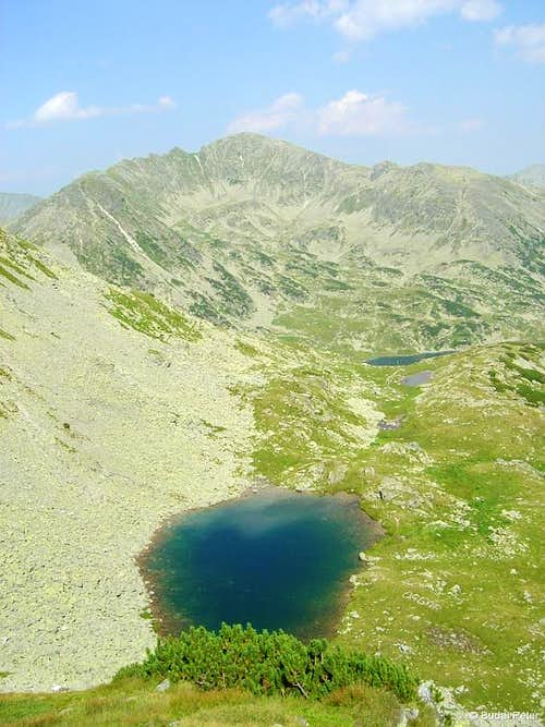 Peleaga peak and Tău Porţii
