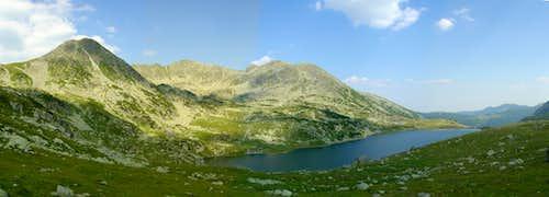Bucura Lake and Peleaga peak