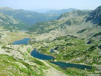 Mountain lakes in Romania