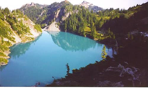 Jade Lake, which can be...