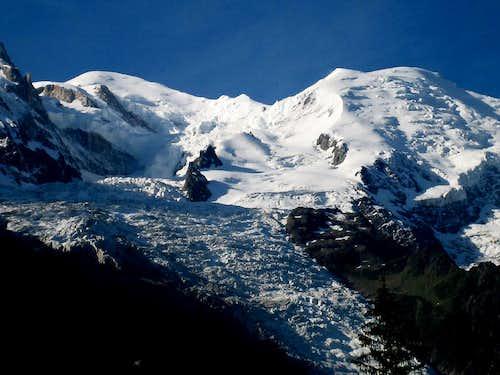 Mont Blanc(4810m) n. Dome de Gouter(4303m)