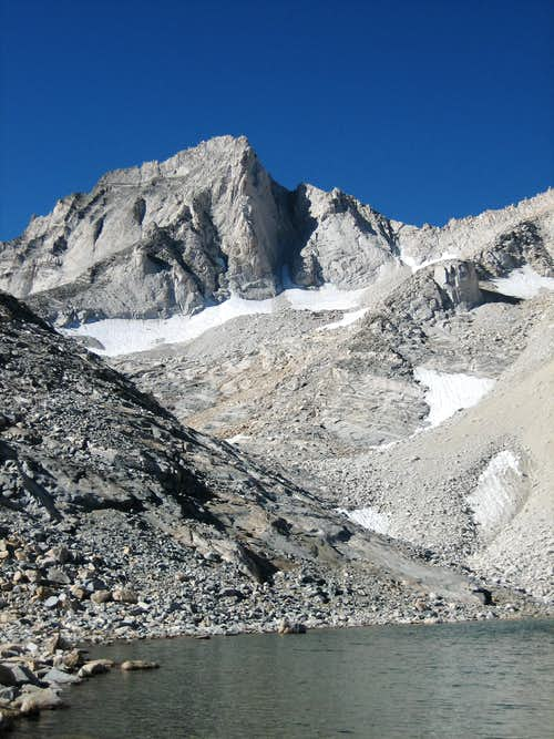 Bear Creek Spire from Dade Lake