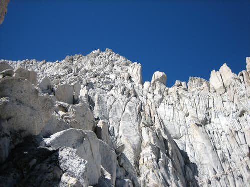 Junction with North Arete