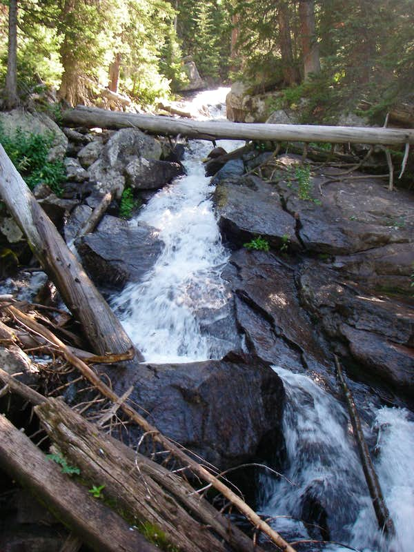 Cascading Pawnee Creek?