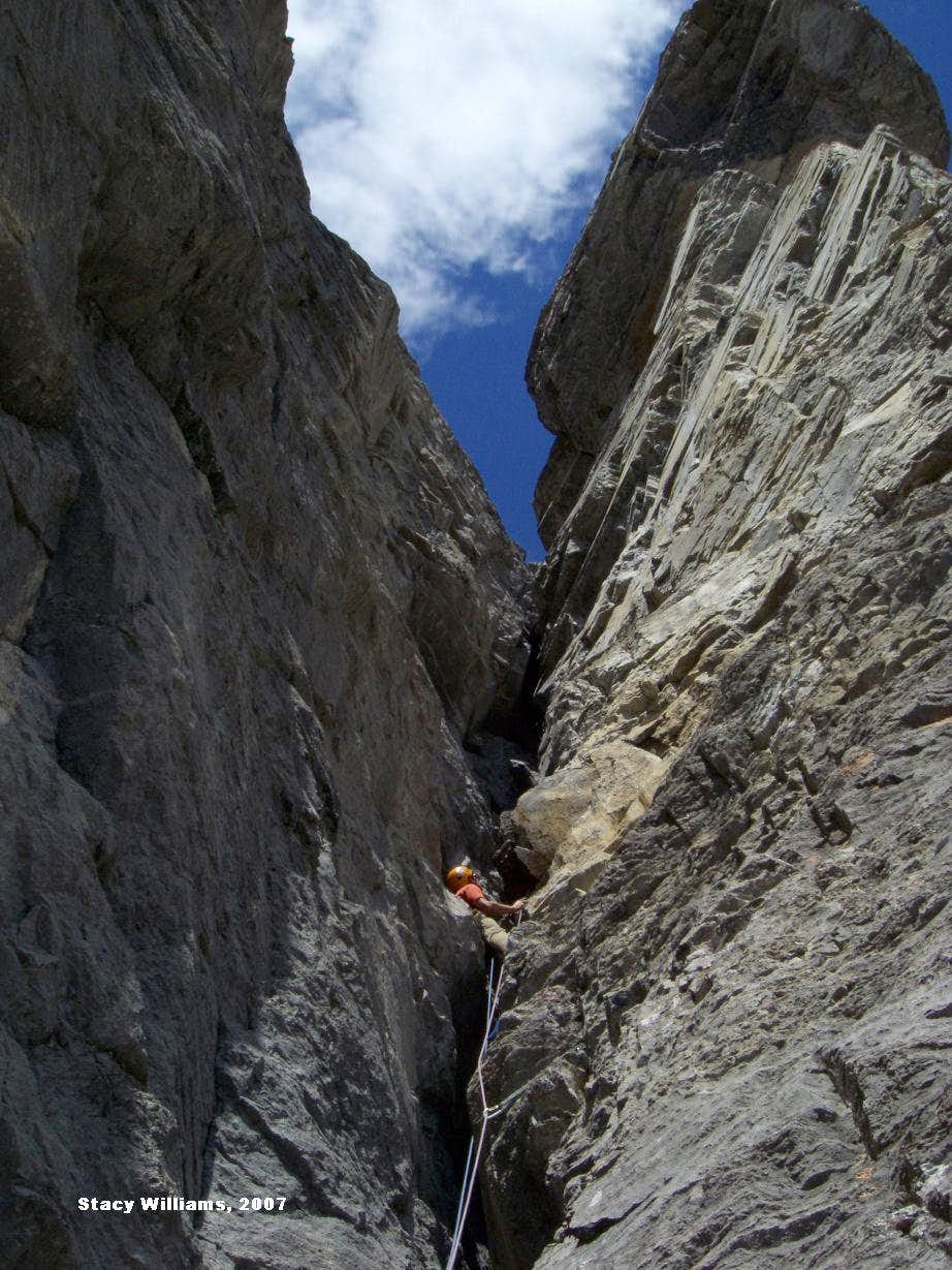 Bottleneck Wall, 5.6-5.12a