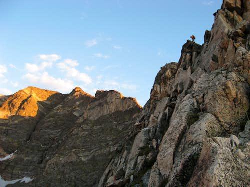 Blitzen Ridge in the Morn