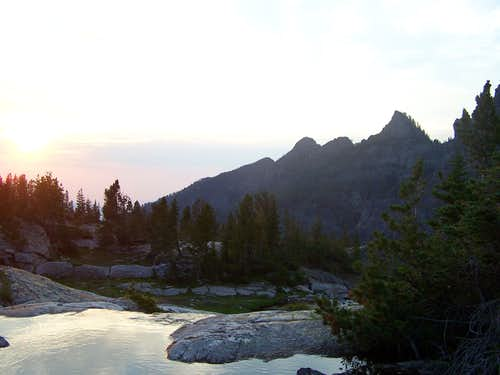 Watching the Sunset from Pine Creek Lake