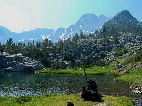 Looking Back at Pine Creek Lake