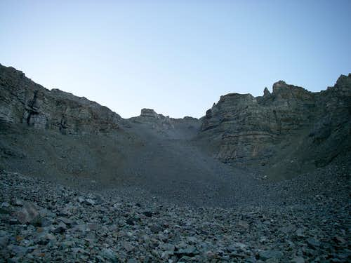 West Face Scree Field