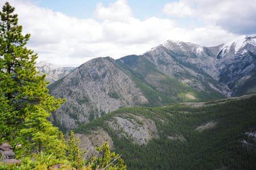 View from Wasootch Ridge