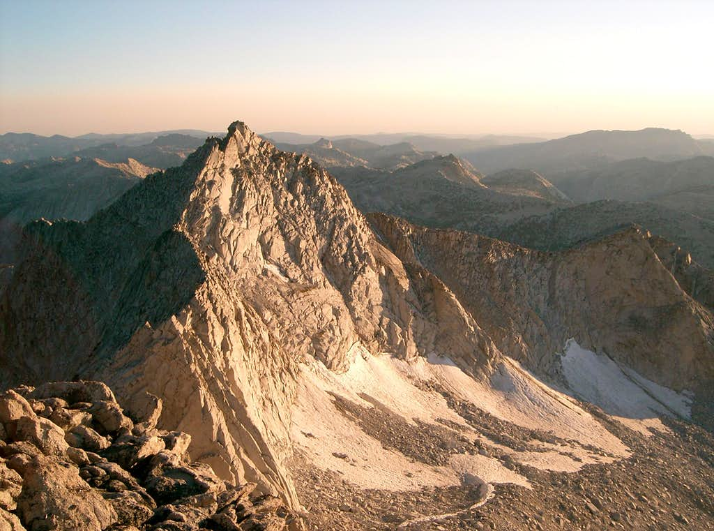 South Summit of Whorl from Main Summit