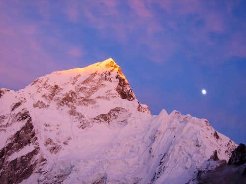 Sunset on Lhotse