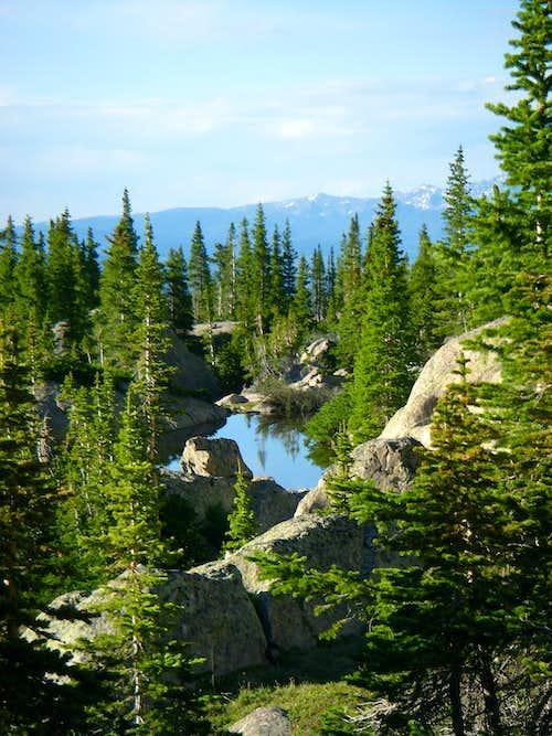 Unnamed Lake at 11,550 feet