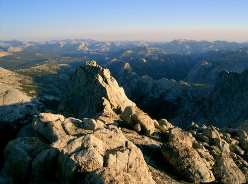 View South from Main Summit of Whorl