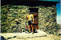 Mountain Bike to the top...