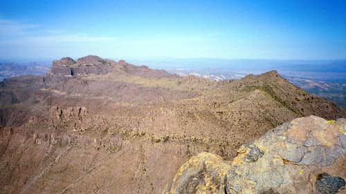 The Superstition ridgeline