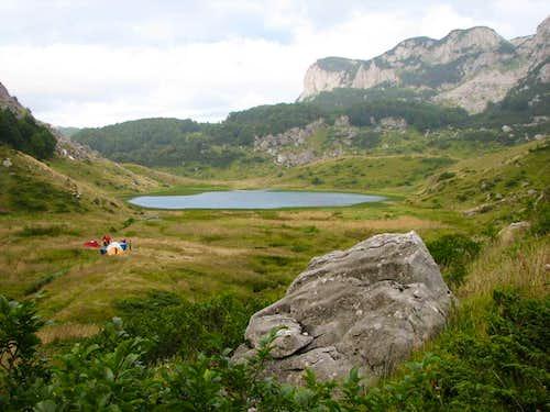 camp at the Great Lake