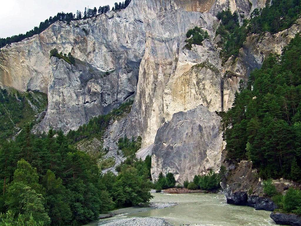Ruinaulta Canyon