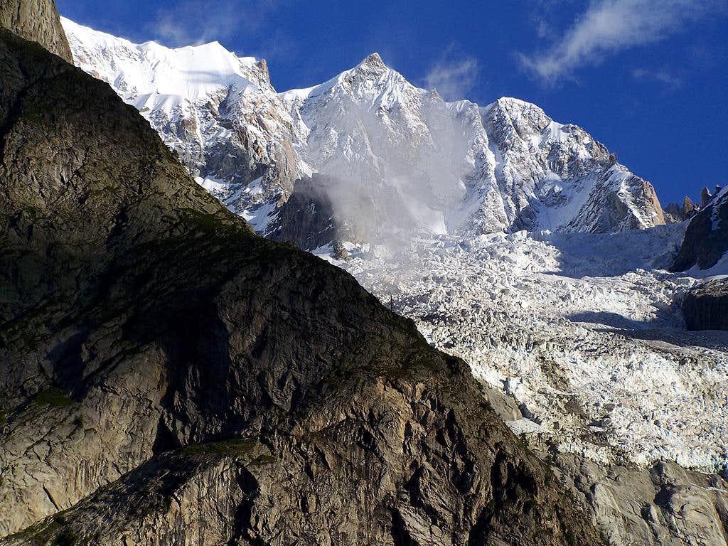 Mont Maudit - S side