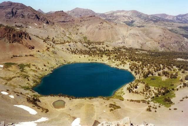 Leavitt Lake seen from the...
