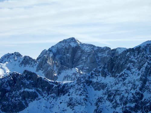 snowshoeing  to Monte Campioncino