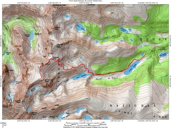 A topo map of the Brainard...