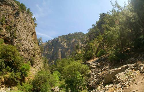 Agia Irini Gorge