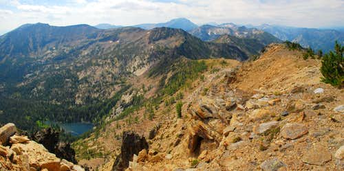 Connecting Ridge from Lolo Peak