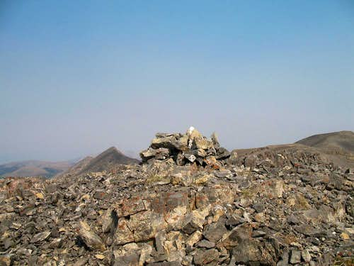 Summit cairn & register
