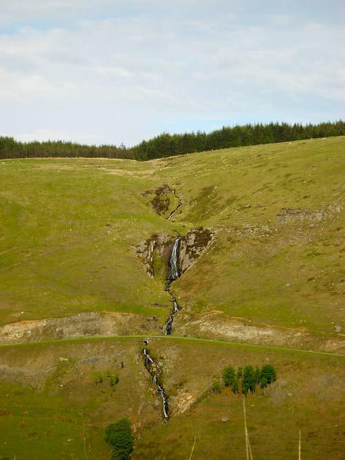 Nant Ystalwyn Waterfall