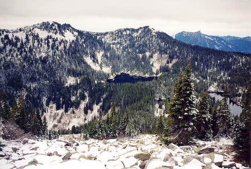 Bandera Mountain (true summit...